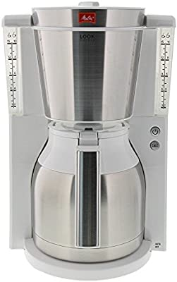 Melitta Look Cafétera de Goteo, 1000 W, 1.25 litros, plástico ...
