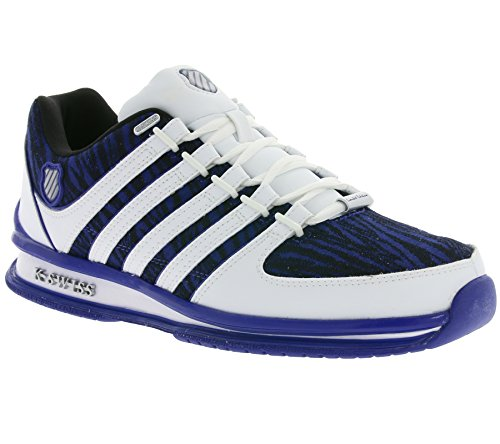 K-Swiss Men's Rinzler Trainer Low-Top Sneakers BLAU BYMyyuPfT