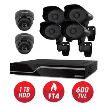 PRO 8CH SECURITY SYSTEM
