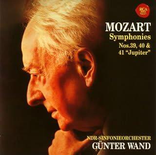 モーツァルト:交響曲第39、40&41番「ジュピター」