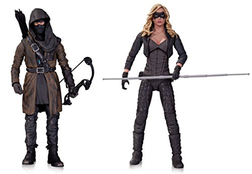 [Super Hero Arrow (TV): The Dark Archer Action Figure Vs Arrow Canary Action Figure] (Hulkbuster Costume For Kids)