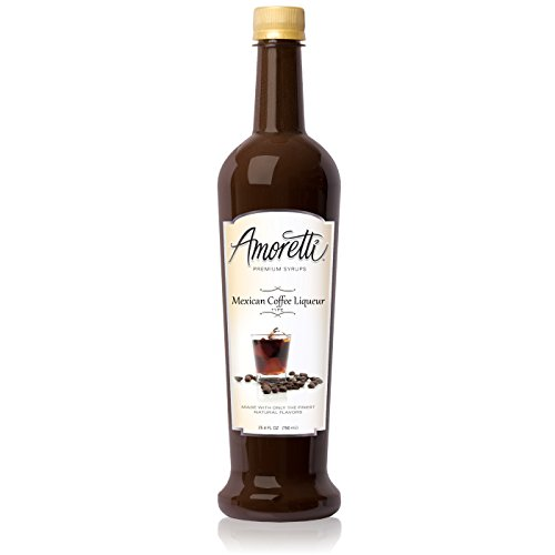 (Amoretti Premium Syrup, Mexican Coffee Liqueur Type Syrup, 25.4 Ounce)