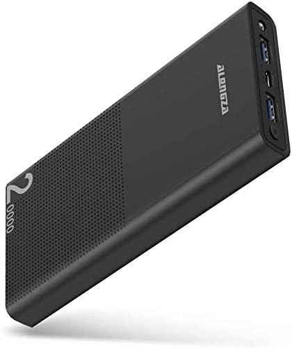 Alongza Portable Phone Charger, 20000mAh Extern...