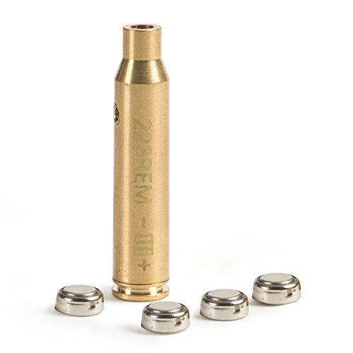 Weiketery Cal 223 5.56mm Rem Gauge Laser Bore Sighter Boresight Red Dot