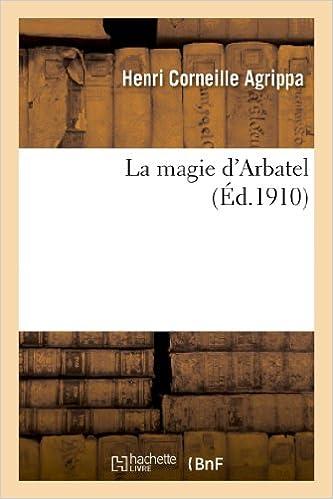 Lire La magie d'Arbatel pdf, epub