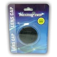 Maximal Power CA LENCAP58 Snap-On Cap for Lens - 58mm (Black)