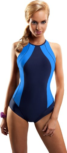 Aquarilla Traje de Ba?o para Mujer Valencia Azul Claro/Azul