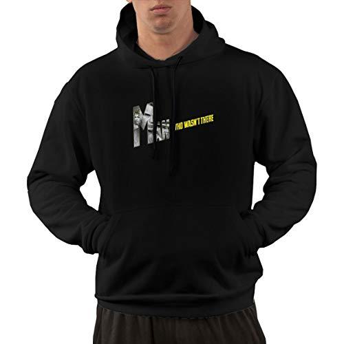 Shubin Mens The Man Who Wasn't There Hooded Sweatshirt L Black