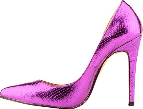 Pour Femmes Cfp Sandales Violettes Compensées OnaCA