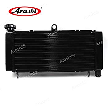 Arashi Radiator Cooling Cooler for HONDA CBR600RR 2007-2011 Motorcycle Replacement Accessories CBR 600 RR CBR600 600RR 1 Pcs Black 2008 2009 2010