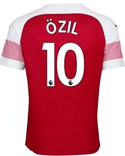 bd2974924 Men s 18 19 Arsenal Ozil  10 Men s Jersey Football Jersey Red(S-XXL) (XXL)