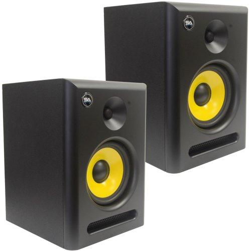 Seismic Audio - Spectra-6P-Pair - Pair of Active 2-Way 6