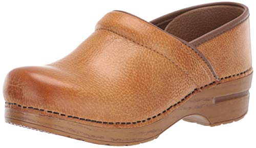 Dansko Women's Professional Mule, Honey Distressed, 41 M EU / 10.5-11 B(M) US