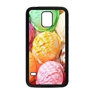 Stylish Chocolate,Ice Cream Design Plastic Case for Samsung Galaxy S5