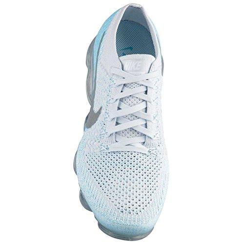 Nike Air Womens Vapormax Flyknit Chaussures De Course Bleu