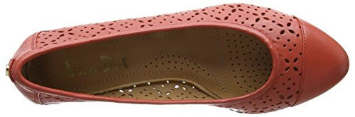 Van Dal 2672, Zapatos de Cuña Mujer Naranja (coral)
