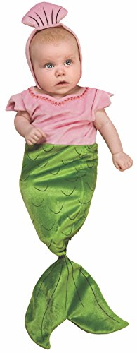 Rubie's Deluxe Baby Bunting, Mermaid Costume, 1 to 9 Months