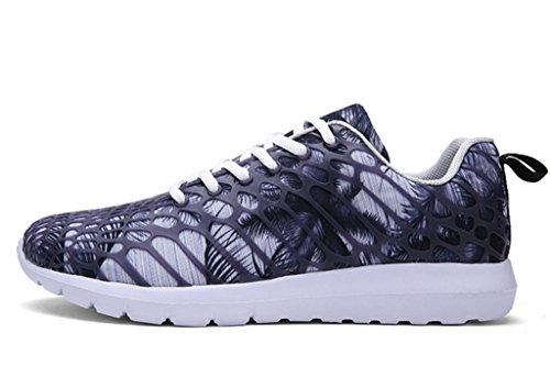 GFONE - Zapatos de tacón  mujer, color gris, talla 40 EU