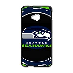 WAGT Seattle Seahawks Brand New And Custom Hard Case Cover Protector For HTC One M7