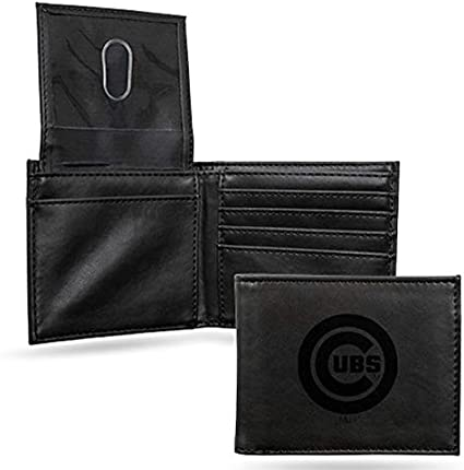 Rico Industries Boston Red Sox Black Leather//Manmade Billfold