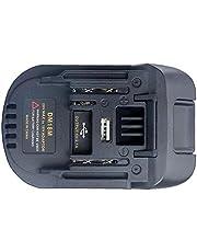 DM18M Batteryadapter Li-Ion Charger Adapter Kompatibel med 18-20V dewalt Milwaukee Makita Handdrivet verktyg
