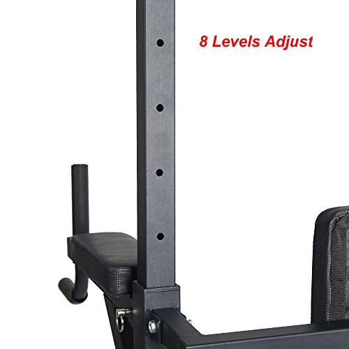 Livebest Heavy Duty Fitness Power Tower Multi-Function Strength Training Workout Dip Station Work Out Equipment for Home Gym by Livebest (Image #7)