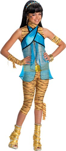 Monster High Cleo de Nile Costume - As Shown - (Monster High Cleo Costumes)