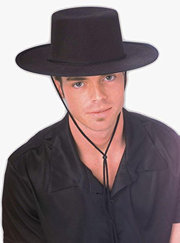 Forum Novelties Men's Costume Spanish Hat, Black, One Size -