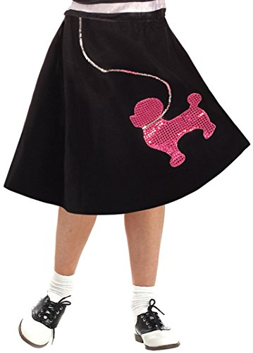 Girls Poodle Skirts (Forum Novelties Poodle Skirt Costume, Large)