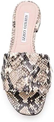 Alberto Gozzi Luxury Fashion Donna Dana259pit Bianco Sandali   Stagione Outlet