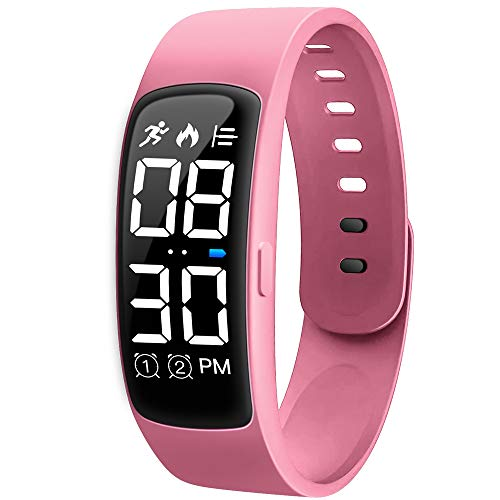 Niceline Kids Fitness Tracker Watch, Activity Tracker Pedometer Watch with Alarm Calorie Step Counter Sport Bracelet…