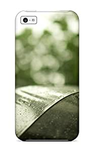 KarenStewart Scratch-free Phone Case For Iphone 5c- Retail Packaging - Rain
