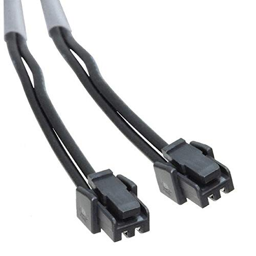 Pack of 25 MICROLOCK PLUS CABLE BLACK2 CKT