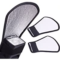SHOPEE Mini Silver White Flash Diffuser Reflector for Camera