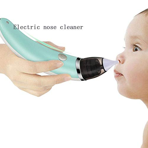 (ZTXY Baby Electric Nasal Aspirator Toddlers Sinus Rinse Kit Newborn Nose Wash Cleaner USB Charging Rhinitis Allergy Deeply Clean for Infants Nasal Suction Device )