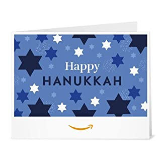 Amazon Gift Card - Print - Hanukkah Stars (B01LYMXG4Z) | Amazon price tracker / tracking, Amazon price history charts, Amazon price watches, Amazon price drop alerts