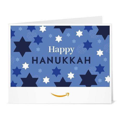 Amazon Gift Card - Print - Hanukkah Stars ()