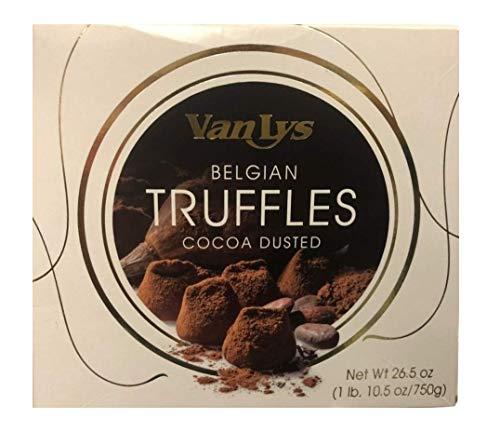 Van Lys Belgian Cocoa Dusted Truffles 26.5 Ounce