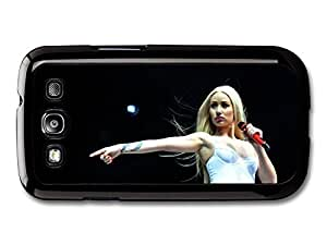 AMAF ? Accessories Iggy Azalea Live Concert Singing with Microphone case for Samsung Galaxy S3