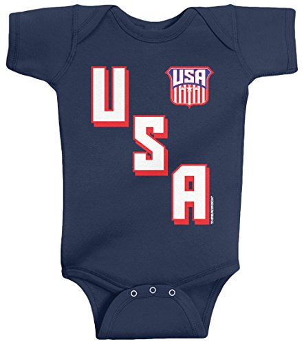 Threadrock-Unisex-Baby-USA-Diagonal-Athletic-Design-Bodysuit