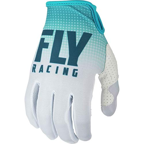 Youth Lite Racing Glove - Fly Racing 2019 Youth Lite Gloves (MEDIUM) (BLUE/WHITE)