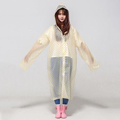 Raincoat Adultes Air Femme Points 3 N 2 Windbreaker Enfant Pour Longue De Veste Section ° Pied Poncho couleur Imperméable Type Plein L'homme À rXxrvnwS