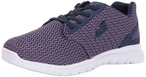 AVIA Women's Avi-Solstice Sneaker, Twilight Purple/Grotto Navy, 8.5 Medium US Avi Trail Running Shoe