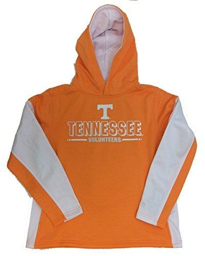 Colosseum Tennessee Volunteers Youth Setter Hooded Sweatshirt-Orange-medium