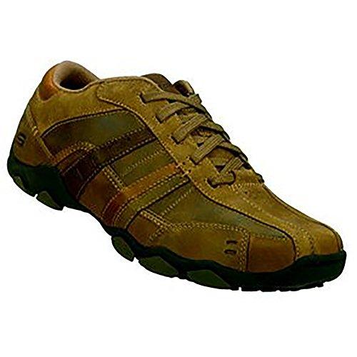Skechers Heren Diameter Vassell Ongedwongen Sneaker Bruin