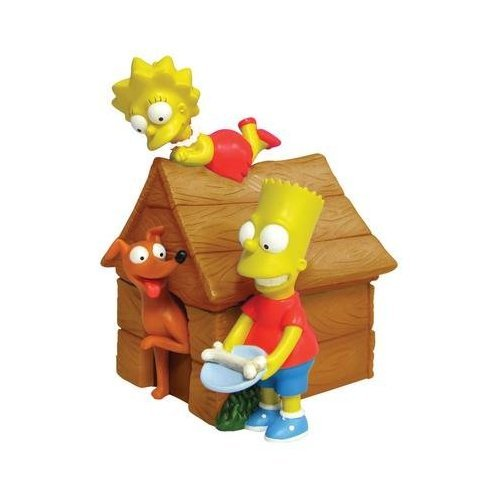 The Simpsons Bart and Lisa Figural Coin Bank (Simpsons Bank)