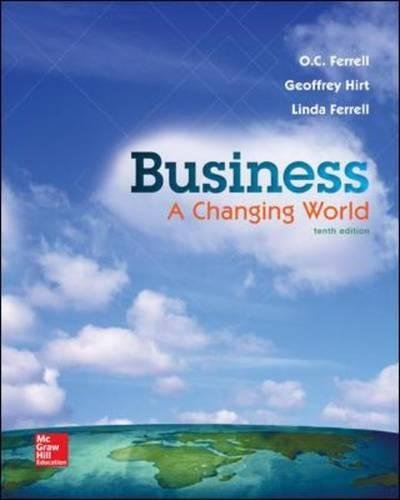 Business: A Changing World - Standalone Book