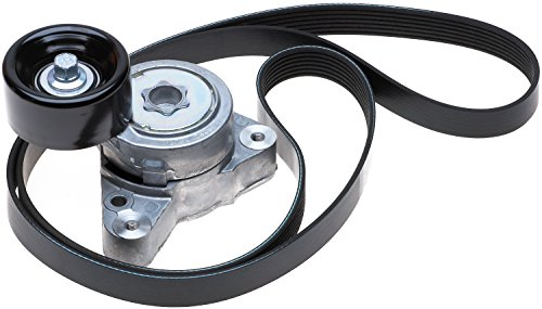 - ACDelco ACK070690 Professional Accessory Belt Drive System Tensioner Kit with Belt and Tensioner