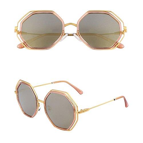 de de Sol Sol 2 Femeninas Delgadas Gafas 3 Gafas Coreanas Gafas polarizadas DT Color AwqpW