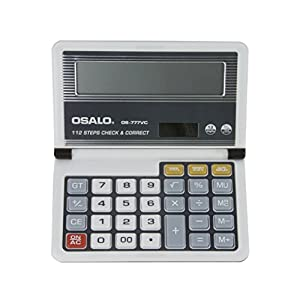 Multifunctional Flip Type Battery/Solar Power 12 Digits LCD Display Screen Pocket Financial Math Calculator Dual Powered Desktop Electric Calculator